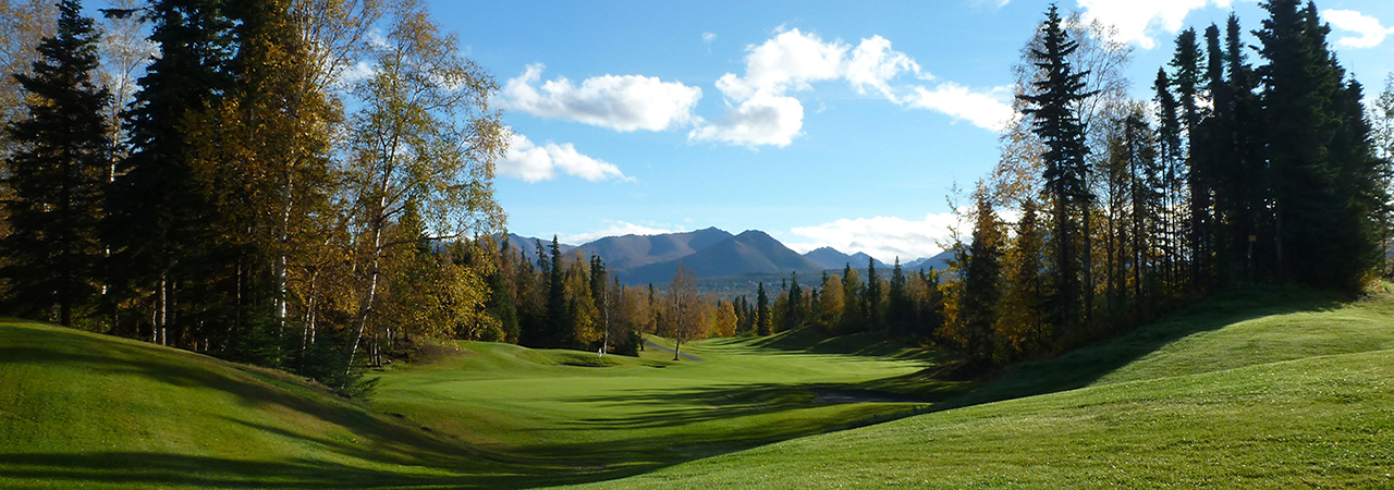 Anchorage Golf Club Hole 9